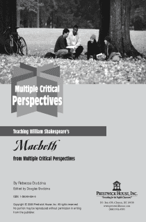 Macbeth Multiple Perspectives