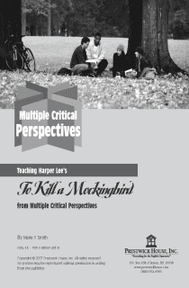 To Kill a Mockingbird Multiple Perspectives