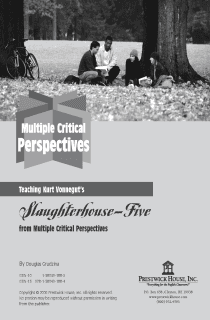 Slaughterhouse-Five Multiple Perspectives