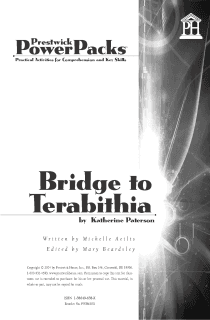 Bridge to Terabithia Power Pack