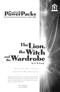 The Lion, the Witch and the Wardrobe Power Pack