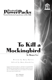 To Kill a Mockingbird Power Pack