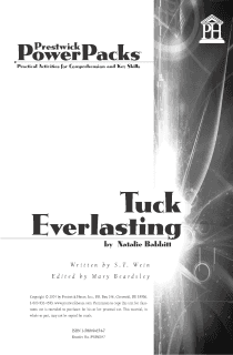 Tuck Everlasting Power Pack