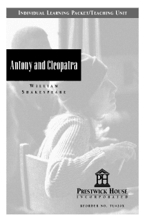 Antony and Cleopatra Teaching Unit