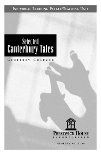 The Canterbury Tales Teaching Unit