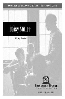 Daisy Miller Teaching Unit