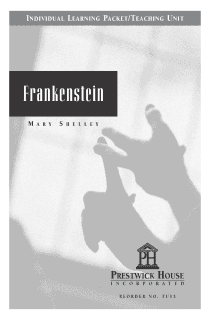 Frankenstein Teaching Unit