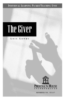 The Giver Teaching Unit