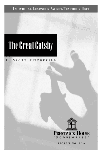 The Great Gatsby Teaching Unit