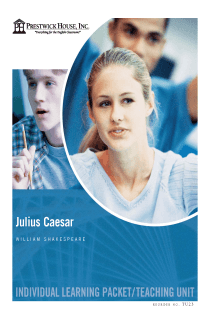 Julius Caesar Teaching Unit