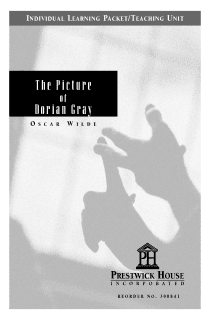 The Picture of Dorian Gray Teaching Unit