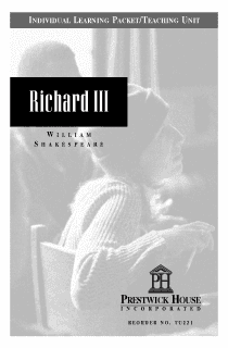Richard III Teaching Unit