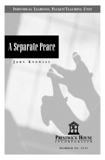 A Separate Peace Teaching Unit