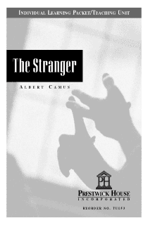 The Stranger Teaching Unit