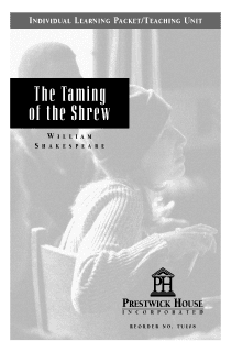 The Taming of the Shrew Teaching Unit