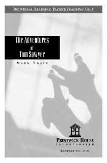 The Adventures of Tom Sawyer Teaching Unit