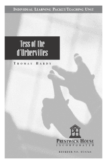 Tess of the d'Urbervilles Teaching Unit