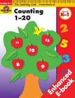 Learning Line Math: Counting 1-20 (Enhanced eBook)