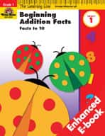 Learning Line Math: Beginning Addition: Facts to 10 (Enhanced eBook)