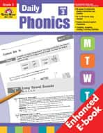 Daily Phonics, Grade 3 (Enhanced eBook)
