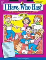 Math Grades 3-4 - I Have, Who Has Series (Enhanced eBook)