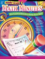 Middle-Grade Math Minutes (Enhanced eBook)
