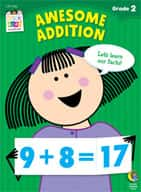Awesome Addition Stick Kids Workbook: Grade 2