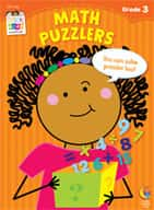 Math Puzzlers Stick Kids Workbook: Grade 3