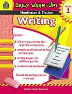 Daily Warm-Ups: Nonfiction and Fiction Writing Grade 1 (Enhanced eBook)