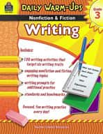 Daily Warm-Ups: Nonfiction and Fiction Writing Grade 3 (Enhanced eBook)