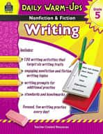 Daily Warm-Ups: Nonfiction and Fiction Writing Grade 5 (Enhanced eBook)