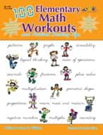 100 Elementary Math Workouts (Enhanced eBook)