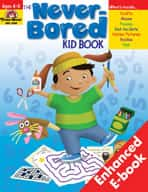 Never-Bored Kid Book: Grades PreK-K (Enhanced eBook)