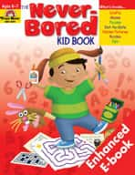 Never-Bored Kid Book: Grades 1-2 (Enhanced eBook)