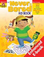 Never-Bored Kid Book: Grades 3-4 (Enhanced eBook)