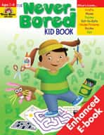 Never-Bored Kid Book: Grades 2-3 (Enhanced eBook)