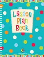 Dots on Turquoise Lesson Plan Book (Enhanced eBook)