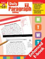 Daily Paragraph Editing: Grade 7 (Enhanced eBook)