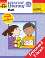 Everyday Literacy: Math: PreKindergarten (Enhanced eBook)