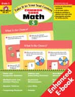 Take It to Your Seat: Common Core Math Centers: Grade 5 (Enhanced eBook)