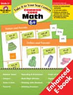Take It to Your Seat: Common Core Math Centers: Grade 6 (Enhanced eBook)