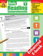 Daily Reading Comprehension: Grade 7 (Enhanced eBook)