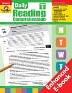 Daily Reading Comprehension: Grade 8 (Enhanced eBook)
