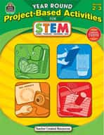 Year Round Project-Based Activities for STEM: Grades 2-3 (Enhanced eBook)