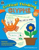 Critical Thinking Glyphs: Kindergarten (Enhanced eBook)