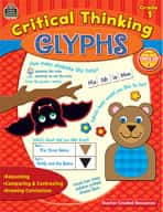 Critical Thinking Glyphs: Grade 1 (Enhanced eBook)