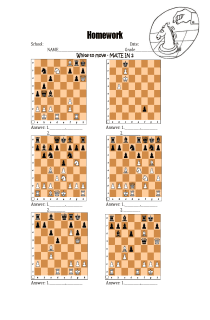 Chess - checkmate in 2 exercise