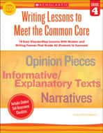 Writing Lessons To Meet the Common Core: Grade 4 (Enhanced eBook)
