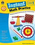 Instant Math Practice: Grade 1 (Enhanced eBook)