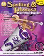 Daily Skill Builders: Spelling and Phonics: Grades 5-6 by Mark Twain Media